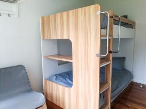 6-kig bunk room